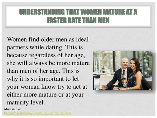 Men don't mature until they hit 43. ELEVEN years after.